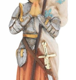 "WJ Hirten 4"" St. Joan of Arc Statue"