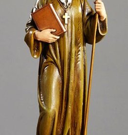 "Avalon Gallery 12"" St. Benedict Statue"
