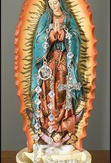 """8"""" Guadalupe Statue Rosary Holder FBA"""