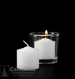 Cathedral Candle Co. Votive Light - Straight Side Single Candle 8 Hour