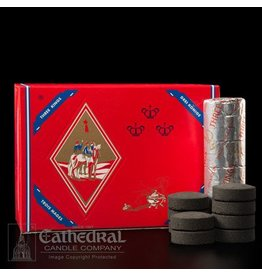 "Cathedral Candle Co. Charcoal - ""Quick Lighting for Incense"" Roll of 10"