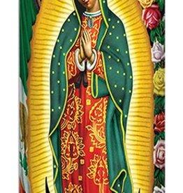 Guadalupe Wax Candle Globe