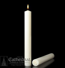 "Cathedral Candle Co. 51% Beeswax 2""x9"" Single Candle"