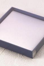 Metallic Blue Gift Box With Satin Inlining