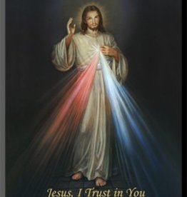 "Divine Mercy Wall Plaque 5"" x 7"""