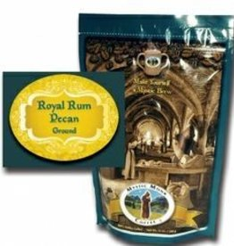 Mystic Monk Sample Coffee Royal Rum Pecan 2oz.