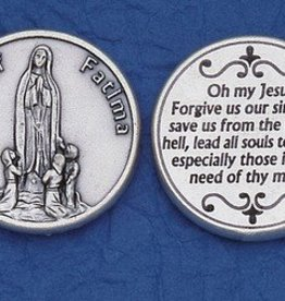 Lady of Fatima Token