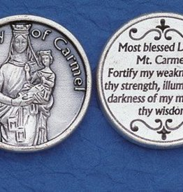 Lady of Mt. Carmel Token