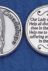 Lady of guadalupe token