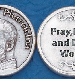 Lumen Mundi St. Pio of Pietrelcina (Padre Pio) Pocket Token