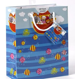 Small Noah's Ark Gift Bag with tissue