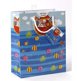 Lumen Mundi Small Noah's Ark Gift Bag with tissue