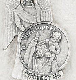Lumen Mundi St. Christopher Visor Clip