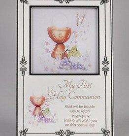 Lumen Mundi Silver First Communion Photo Frame