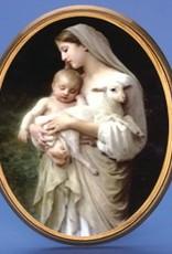 Divine Innocence Oval Plaque