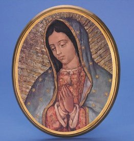 Lumen Mundi Our Lady of Guadalupe Wall Plaque
