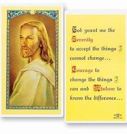 The Serenity Prayer Holy Card