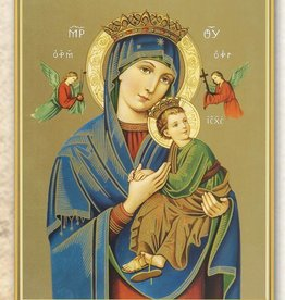 "8"" X 10"" Our Lady of Perpetual Help (Print Only)"