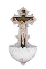 "Crucifixion Font Resin 6.75"""