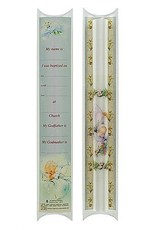"10"" Baptismal Candle with certificate"