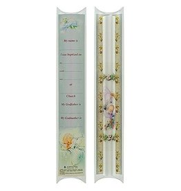 """10"""" Baptismal Candle with certificate"""