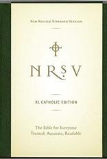 Large Print Bible-NRSV-Catholic - Large Print  Green