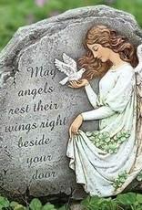 "8.25"" Celtic Angel Garden Statue"