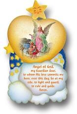 """4"""" x 7"""" Guardian Angel Plaque"""