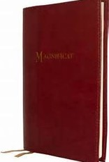 Leather Cover for Magnificat Burgandy