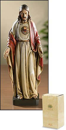 "Christian Brands 8"" Sacred Heart of Jesus Statue"