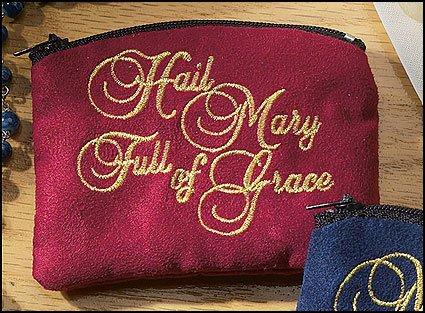 Hail Mary Rosary Case