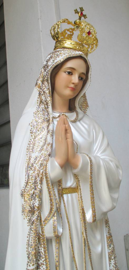 "Fiat Imports 48"" Our Lady of Fatima Statue - Fancy"