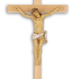 "WJ Hirten 13"" Oak Crucifix"
