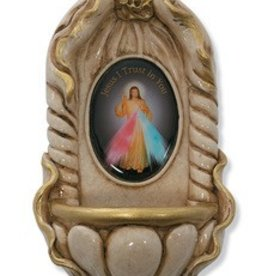 Holy Water Font - Divine Mercy
