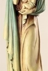 "18"" Madonna and Child Statue"