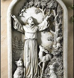 Avalon Gallery Resin Saint Francis Plaque