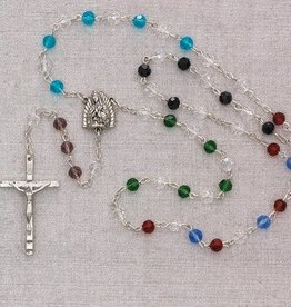 6 MM Multi-Color Pro Life Rosary