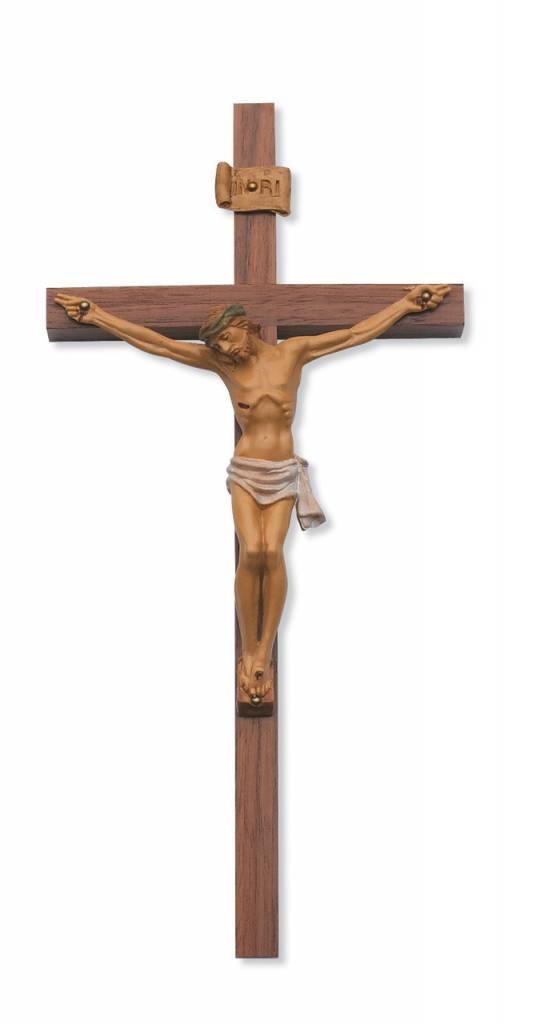 "McVan 12"" Walnut Crucifix Resin Corpus"