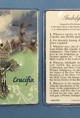 Lumen Mundi Pardon Crucifix with Prayer card