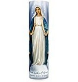 The Saints Gift Collection Our Lady of Grace LED Candle