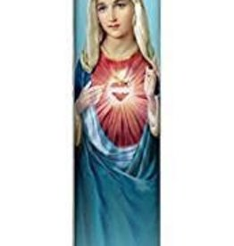 Immacualte Heart of Mary LED Candle