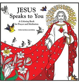 Pauline Books & Publishing Jesus Speaks to You: A Coloring Book for Prayer and Meditation