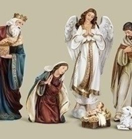 Joseph's Studio Joseph Studio 8 piece Nativity Set 16.75""