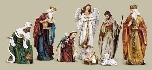 "Joseph Studio 8 piece Nativity Set 16.75"""