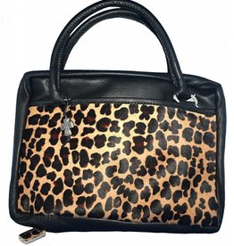 Leather Bible Case XL Animal Print