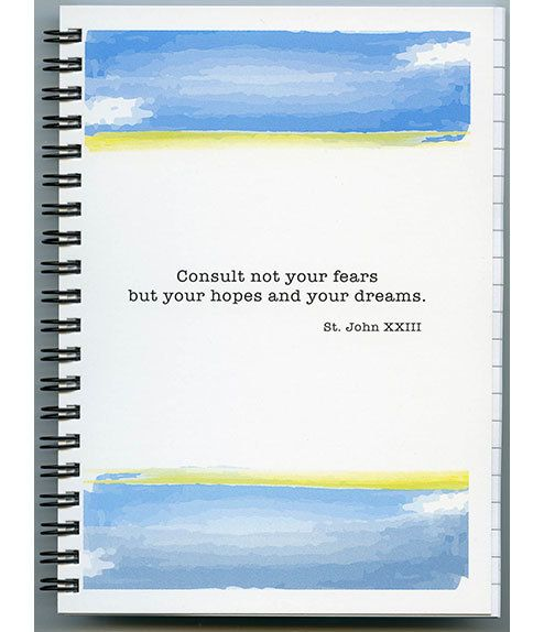 Consult Not Your Fears Journal