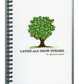 Pio Prints Laugh and Grow Strong Journal