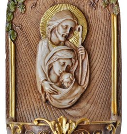 Sine Cerra Holy Family Holy Water Font