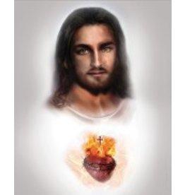 Thomas Valle Thomas Valle 8 X 10 Sacred Heart of Jesus Print