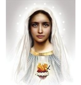 Thomas Valle Thomas Valle 8 X 10 Immaculate Heart Of Mary Print